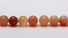 12 mm natural gemstone round pink agate beads diy jewelry necklace bracelet for the manufacture