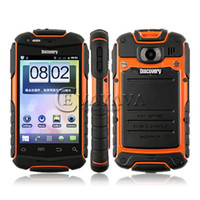 Wholesale Waterproof Tri Anti Discovery V5 Inch Android Smart Cell Phone Drfy SC8810 Quad Band GSM