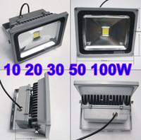 Wholesale 10W W W W W W LED Flood light White High Power Outdoor Spotlights