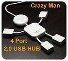 Wholesale 100pcs PC Mini Port USB Mbps High Speed Cable Hub human shape USB HUB MGXA077