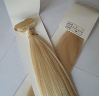 Wholesale Top Quality quot Lightest Blond Color g Indian Remy Human PU Tape Glue Skin Weft Hair Extensions