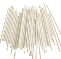 Silicone cake pop sticks - 6 inch White chocolate stick paper lollipop sticks cake pops paper sticks cookie stick mm