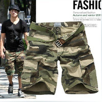 Wholesale retail New arrival hot Leisure camouflage Multi pocket outdoor sports shorts Does not incl