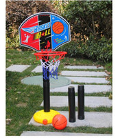 Stand   Scalable basketball stands with basketball and gas needle kids outdoor sports indoor shooting sports