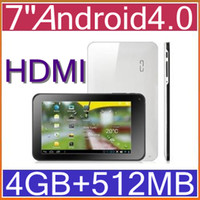 Wholesale 7 quot GB Android Tablet VIA8850 GHz Point Touch Capacitive WIFI HDMI MP5 PB7