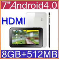 Wholesale 7 GB Android Tablet VIA8850 GHz Point Touch Capacitive WIFI HDMI PB7