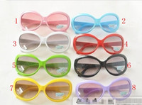 Wholesale children s sunglasses fashion candy sunglasses kids colors glasses factory direct pairs