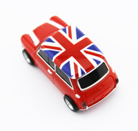 Wholesale real gb gb gb gb gb mini cooper Car shape USB Flash Drive pen drive memory stick drop US0021