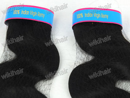 Wholesale Mix Length quot quot Indian virgin remy human weft hair extension b body wave g pc