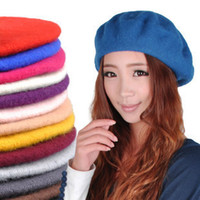 Wholesale lady cap new spring and autumn winter ms han hat beret son in the spring and autumn w