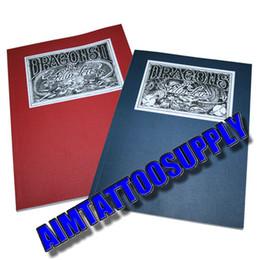 Wholesale NEW Dragon Sketchbook By Filip Leu Japanese Tattoo Book set Tattoo kits hot sale