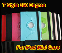 Hot!! T Style 360 Degree Rotating PU Leather Case Stand For ...