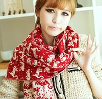Wholesale Cute little cat wool scarf wool scarf winter warm fashion wild scarves