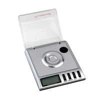 Wholesale 20g Mini LCD Digital Scale Diamond Pocket Digital Jewelry precision measure Digital Milligram