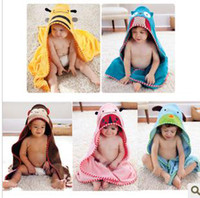 Wholesale Baby Bath towel dog monkey owl Beetle bee design cute