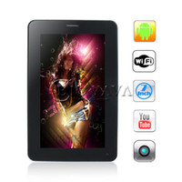 Wholesale 7 Inch Android Tablet PC T13 G GSM Cell Phone Allwinner A13 GHz MB DDR3 GB Dual Camera