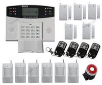 оптовых home alarm system-GSM SMS Главная охранной охранной сигнализации Детектор Комплект датчика пульта дистанционного управления