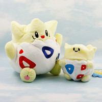 Wholesale 2pcs set TOGEPI banpersto plush toys pikachu very good quality and safty for baby use