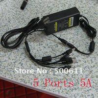 Wholesale 5 Port V A DC Power Supply For CCTV Camera