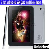 Wholesale 5pcs In Stock Inch Android Tablet PC T13 G GSM Cell Phone Allwinner A13 GHz MB DDR3 GB