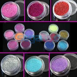 Wholesale PERFECT COLORS OF UV ACRYLIC DUST GLITTER POWDER NAIL ART TIPS DECORATION FOR YOUR CHOICE