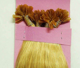 Wholesale new item great hair nail u tip prebond peruvian remy human hair extension