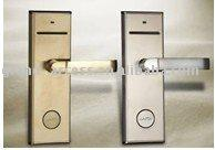 handhold lock hotel lock - RFID Hotel Door Lock Can Open By Card And Keys With SoftWare