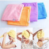 Wholesale Magic Twist Hair Dryer Quick Drying Towel Salon Wrap Turban Cap Hat New