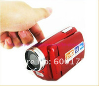 Wholesale DV139 Digital Video Camera LED FLASH LIGHT CAMERA DV Digital Video Camera Camcorder with Russian