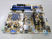 Wholesale DHL Free Free Desktop Motherboard For ASUS IPIBL LB Motherboard G33 HP Benicia GL8E LGA