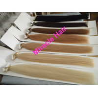 Wholesale 22 quot inch gram b Glue Skin Weft Hair Extension Indian Human hair