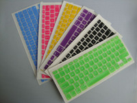 Wholesale Name Brand Laptop Silicone KeyBoard Case Protector Cover skin For MacBook waterproof dustproof