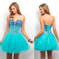 Reference Images Organza Sweetheart 2013 Newest sweetheart rhinestone corset bodice sheer mini organza homecoming dresses prom dresses