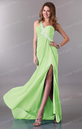 Wholesale 2013 New Prom Dresses Shining Beading One Shoulder Long Evening Dress Formal CL3183