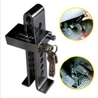 automobile brakes system - Car anti theft lock for automobile clutch brake clutch lock lock the throttle lock O340