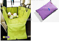 Wholesale Waterproof Seat Cover Dog Pet Car Hammock Blanket Grey purple green