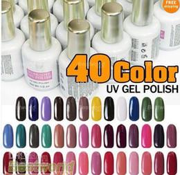 Wholesale 15ML oz UV soak off gel polish set kit colors qq Nail Art