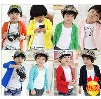 unisex baby rib cardigan - Hot Sale boys amp girls cardigan Rib cardigan baby clothes children coat colors