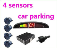 Wholesale 50set Sensors Parking System v LED Display Indicator Sound Alarm car parking sencors MGXA086