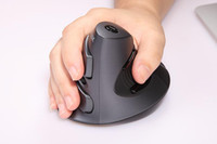 Wholesale New DELUX M618 Joy wired Vertical mouse optical mouse Ergonomic Design O348