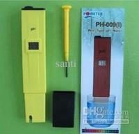 Wholesale Water Meter NEW MINI Pen Type Measure LCD PH Meter Digital Tester Hydroponic aquarium Pool