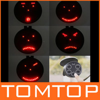 Wholesale Drive motion Wireless Led light Funny face Car Message Sign led car signal light Remote control K276