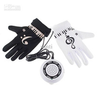 Wholesale New Electronic Music Piano Hand Gloves Exercise Keyboard Music Instrument