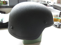 ballistic materials - Bulletproof Ballistic Helmet NIJ IIIA level MICH style Steel material Army Helmet
