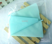 Wholesale Striper Silicone Pastry Bag Cake Decorating Tools Eco Friendly cm re useable