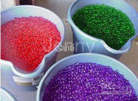 Wholesale 14 colors Water beads water ball magic Crystal soil Jelly water muds for plant wedding party deco