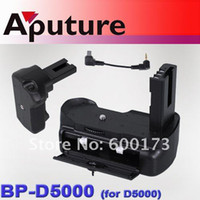 Wholesale Aputure Battery Grip DSLR Camera Digital camera accessories Battery Grip for D5000 BP D5000 Camera