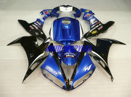 Fairing body kit For YAMAHA YZF-R1 YZF R1 2004 2005 2006 Bodywork YZFR1 R1 04 05 06 blue black Fairings set+7gifts