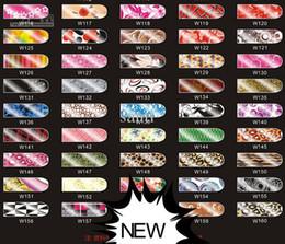 Wholesale NEW DESIGNs Nail Art Wraps Sticker Minx Metallic Patch Foil Applique Decoration
