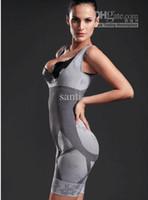 Women Corset & Bustier  one-piece ladie's body shaper shapers slim lift bamboo charcoal slimming underwear